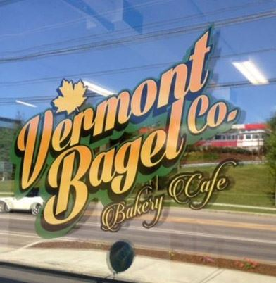 Vermont Bagel Co. Sign