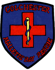 Colchester Malletts Bay Rescue Patch