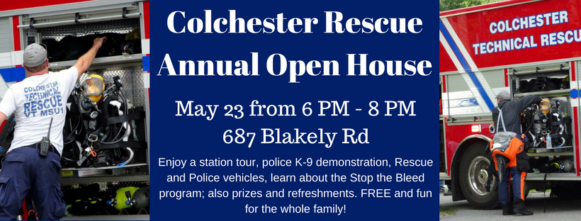 Colchester Rescue Annual Open House