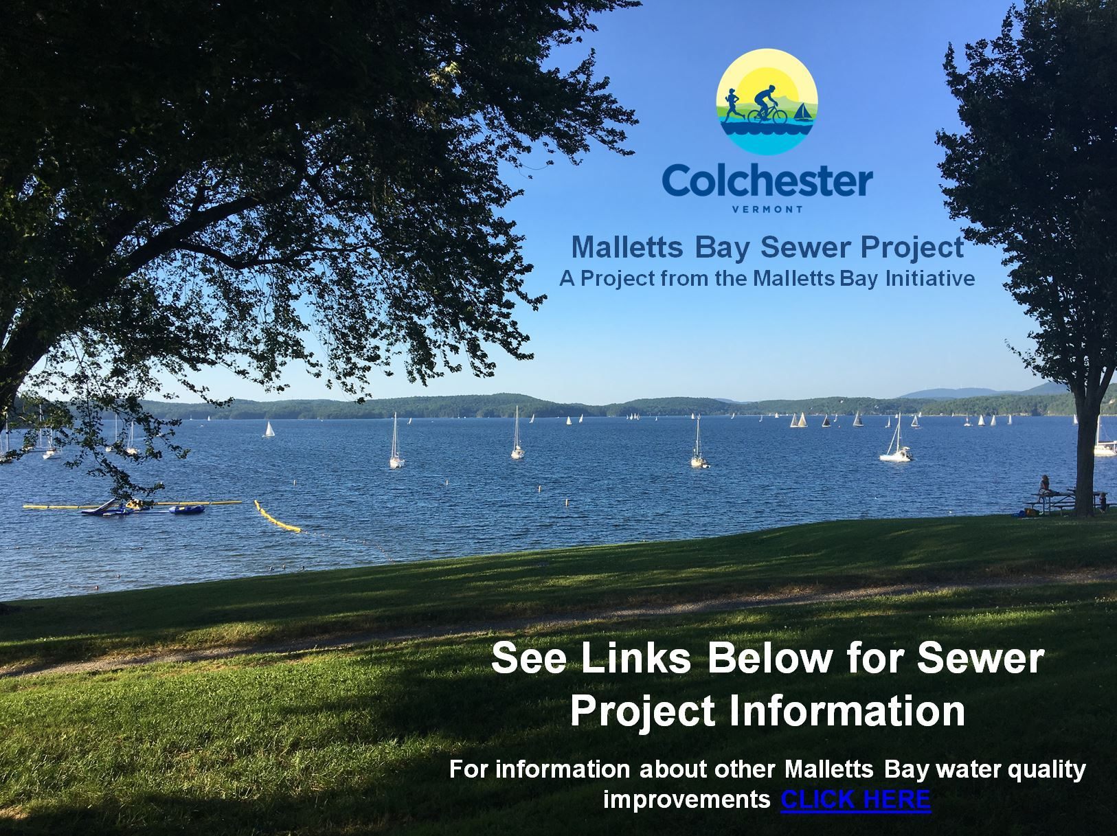 Malletts Bay Sewer Project Homepage