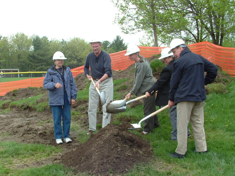 Ground breaking ceremony May 2006