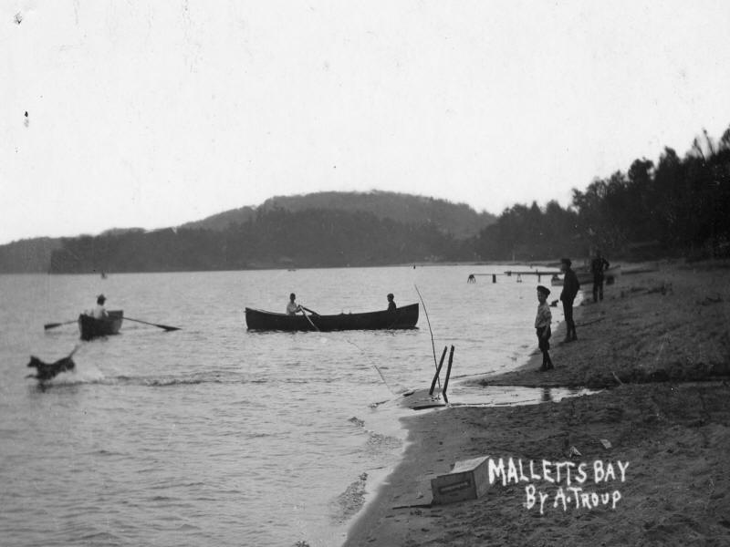 Malletts Bay dated 1910